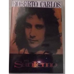 Dvd Roberto Carlos San Remo 72 Un Gatto Nel Blu Duplo