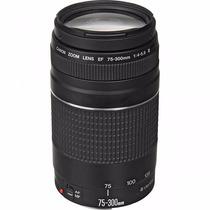 Lente Canon Ef 75-300mm F/4-5.6 Iii Zoom Auto Foco Garantia