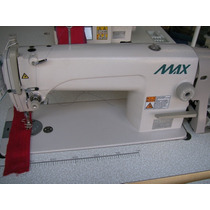 Maquina De Coser Recta Industrial Marca Max Costura Sencilla