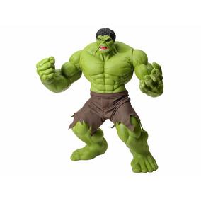 Boneco Hulk Verde Premium Gigante Articulado - Mimo - Verde