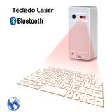 Teclado Virtual Laser Holografico Bluetooth Android Ios Pc