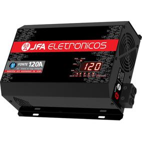Fonte Automotiva Carregador Jfa 120a Bivolt Automatico