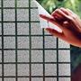 Adesivo Jateado Texturizado Box Banheiro Vidros 1,22 X 60cm