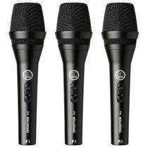 Microfone Dinâmico Akg P3s Perception P3 S Voz Violão 3 Und