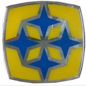Adesivo Logotipo Grade Dianteiro Onibus Busscar 12x12