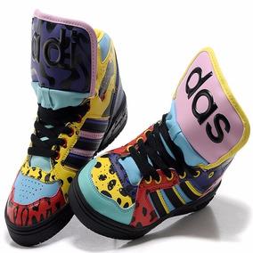 Tênis adidas Jeremy Scott Js X Instinct Hi Animal Print