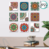 Cuadros Decorativos Set De 9 Mandalas