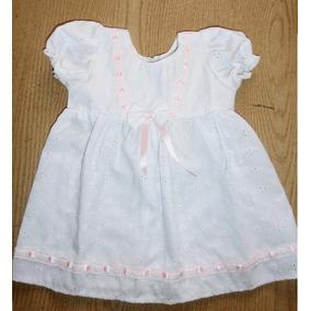 Vestido De Bebe Para Bautismo De 6 A 10 Meses