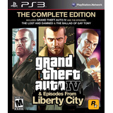 Grand Theft Auto Iv Gta 4 The Complete Edition Ps3