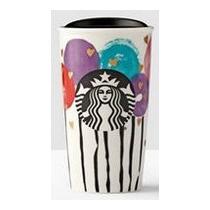 Starbucks Termo Para Cafe Color Blanco Y Colores Amyglo