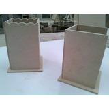 Lapiceros Forma 6x6x9 Fibrofacil X10