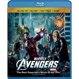 The Avengers Combo Pack Bluray 3d, Bluray, Dvd, Digital Copy