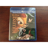 Bambi Remsterizada - Blu-ray + Dvd - Incluye Extras