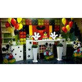 Kit Mickey Disney Decoração Completa 12 Peças Frete Grátis