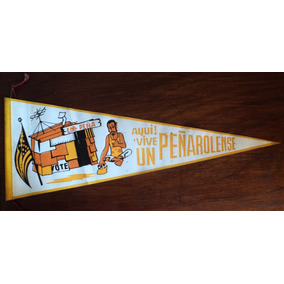 Osl Banderín Antiguo Peñarol Fútbol Aquí Vive Peñarolense