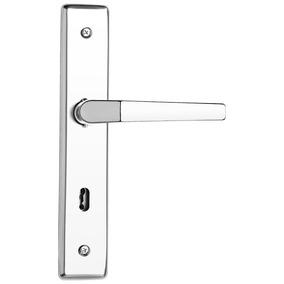 Fechadura Interna Soprano Cromada (fechadura De Quarto)