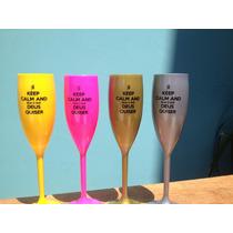 30 Taça Champanhe Champagne Acrílica Personalizadas