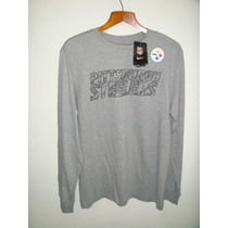 Playera Nike Nfl Pittsburg Steelers Manga Larga
