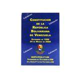 Constitución De Bolsillo República Bolivariana De Venezuela