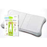 Combo Wiifit Plus Tabla Wii Balance Board + Juego Wii Y Wiiu