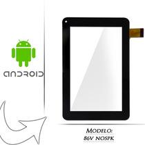 Touch Mica Tactil Tablet China V86 Nospk 30 Pines