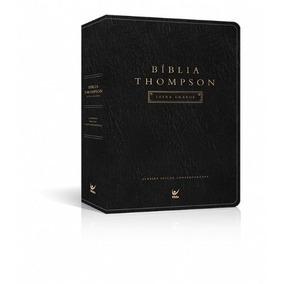 Bíblia De Estudo Thompson Letra Grande Palav Jesus Vermelho