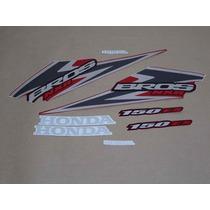 Kit Adesivos Honda Nxr 150 Bros Es 2006 Vermelha