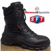 Botas Tacticas Marasco & Speziale C/ Cierre Lateral - S F T®