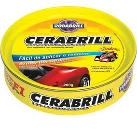 Cera Automotiva Tradicional Cerabrill Lata 200gr Rodabrill