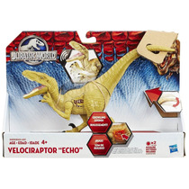 Jurassic World - Velociraptor Echo - Eletrônico Hasbro
