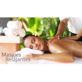 Masaje Relax / Descontracturante, 30 Minutos. (solo Damas)