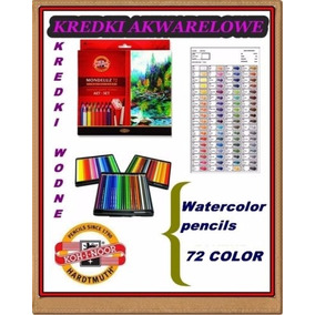Lápis Aquarelável Koh I Noor Mondeluz 72 Cores *blackfriday