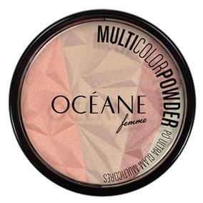 Multicolor Powder Ultra Glam Océane - Pó Facial Multicolor
