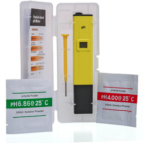 Medidor Ph Digital Água Lcd Phmetro Atc + Bateria Sashê Case