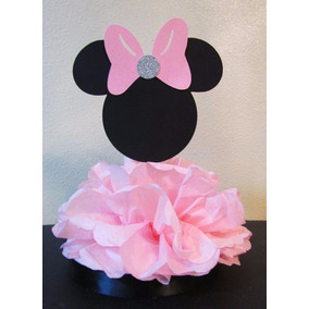 Centro Mesa, Fiesta Mickey, Minnie, Corona, Princesa