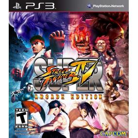 Super Street Fighter 4 Arcade Edition Digital Ps3 Lgames