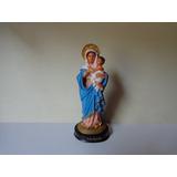 Nossa Senhora Mãe Rainha Resina Imagens Católicas 14 Cm