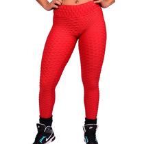 Calça Legging Fitness Em Tecido Suplex Bolha,ginástica