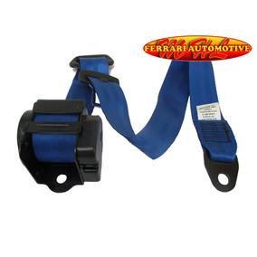 Cinto De Segurança Azul Gol Uno Palio Corsa Polo Dianteiro
