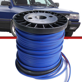 Friso Filete Azul Colar Parachoque Gol 87 95 Kit 10 Mts #035