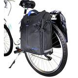 Par De Arforjas Inpermeables Para Bicicleta + Soporte
