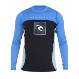 Camiseta Masculina Rip Curl Lycra Zone Relaxed Fit Azul - M