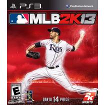 Mlb 2k13 Major League Baseball 2k13 Ps3 Lacrado Sony