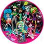 Monster High Papel Arroz Redondo 20 Cm Bolo