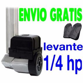 Kit Motor Portão Eletrônico Basculante Ppa 1/4 Hp Levante