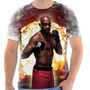 Camiseta Camisa Personalizada Anderson Silva Spider Ufc 2