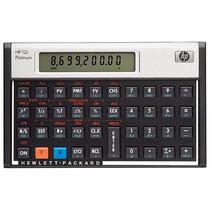 Calculadora Hp -12c Platinum Inglês Visor Lcd/ 130 Funções