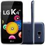 Telefone Celular Lg K4 K130f 8gb 4g Câmera 5mp Azul Índigo