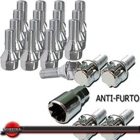 Kit Jogo Parafuso Roda Antifurto Rosca 12x1,25mm Fiat