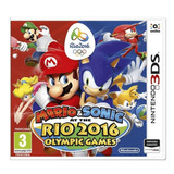 3ds Mario & Sonic At The Rio 2016 Olympic Games - Nuevo